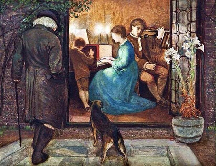 Evensong, 1871 - Эдвард Роберт Хьюз
