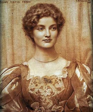 Hilda Virtue Tebbs, 1897 - Edward Robert Hughes