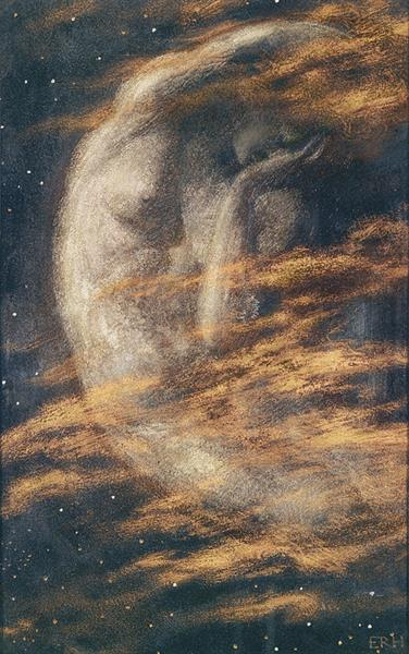 Weary Moon - Edward Robert Hughes