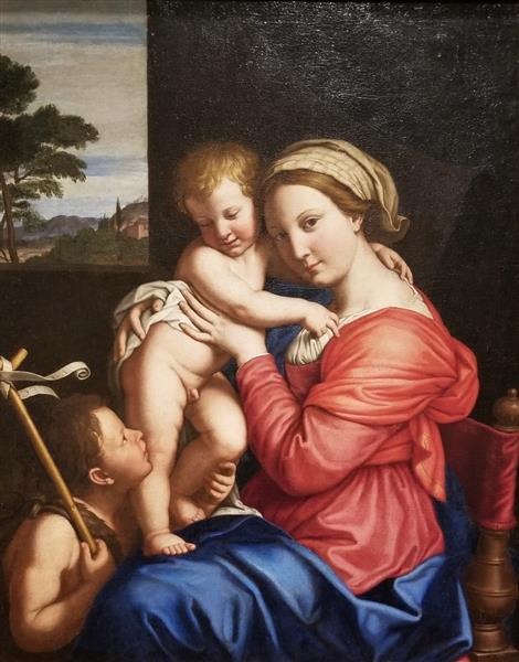 Madonna and Child, c.1650 - Giovanni Battista Salvi