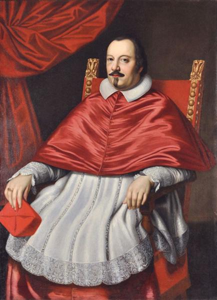 Cardinal Pietro Ottoboni, Future Pope Alexander VIII - Giovanni Battista Salvi da Sassoferrato