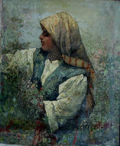 Rose picker - Anton Mitov
