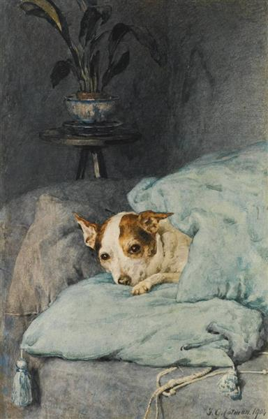 Tucked Up, 1904 - Frederick George Cotman