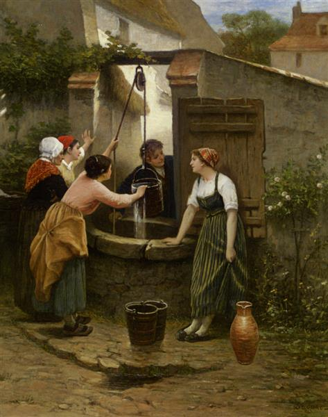 By the Well - Guillaume Seignac
