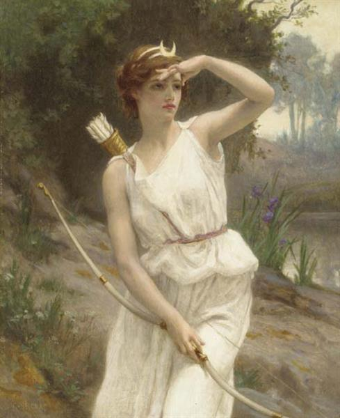 Diana the Huntress - Guillaume Seignac