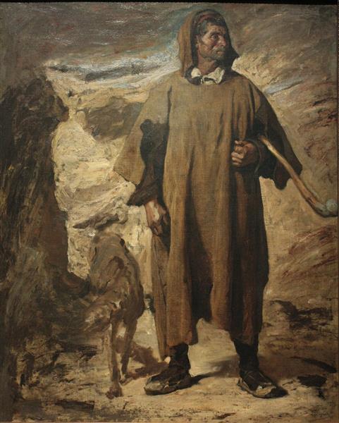 Berger des montagnes de la Castille - Henri Regnault