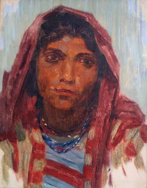 Romani girl - Ivan Mrkviсka