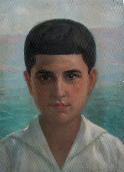Portrait of the artist's son - Ivan Mrkvička