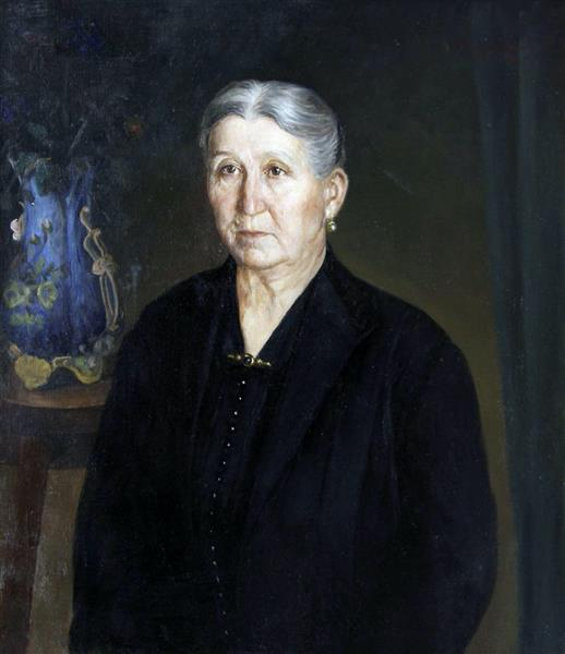 Portrait of a Woman, 1924 - Ivan Mrkvička