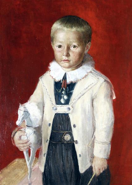 Portrait of Ludovic Sribarni, 1903 - Ivan Mrkvička
