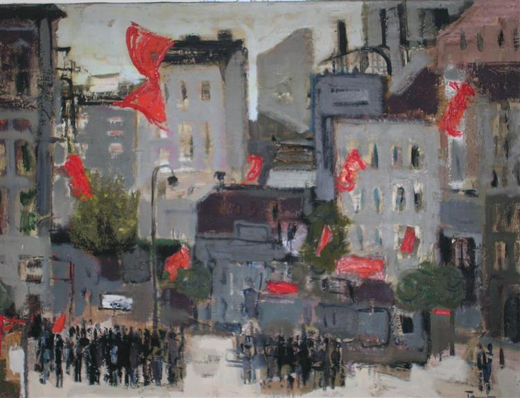 Celebrating  City, 1964 - TAMÁS, Ervin