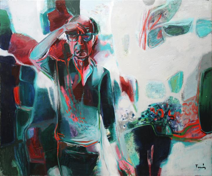 Self Portrait, 1977 - Ervin Tamas