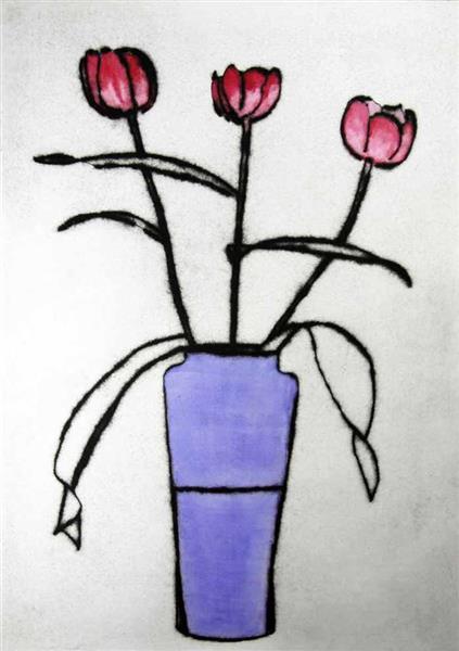 Morning Tulips, 2009 - Richard Spare