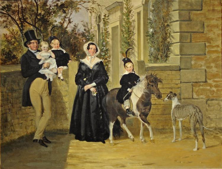 Thomas Dawson and His Family - John Frederick Herring Sr.