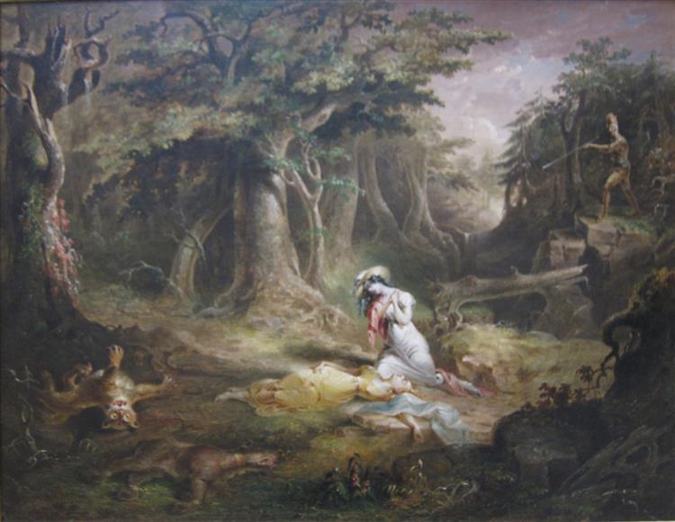 Leatherstocking's Rescue, 1832 - John Quidor