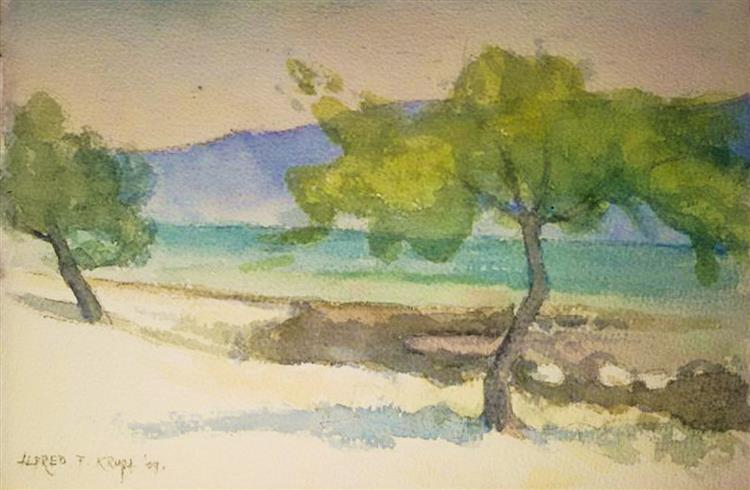 In the Velebit Channel, 2009 - Alfred Freddy Krupa