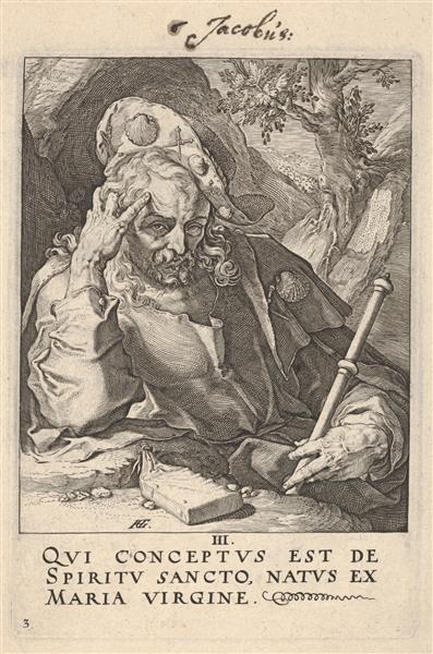 St. James the Great, c.1589 - Hendrick Goltzius