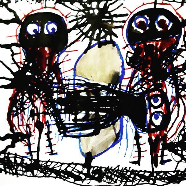 Thomas Riesner-Kunst und Psychiatrie 5 - Thomas Riesner