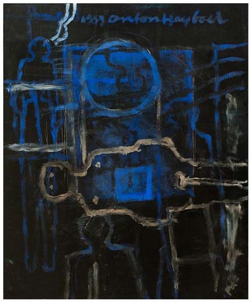 Zonder Titel, 1958 - Anton Heyboer