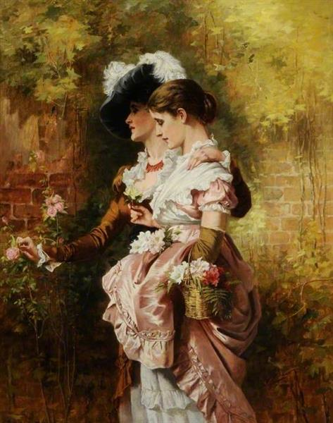 The Sisters, c.1879 - Laslett John Pott