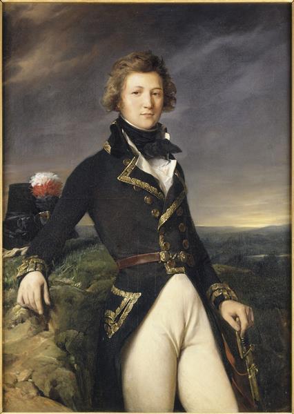 Louis Philippe D'orléans, Duc de Chartres en 1792 - Léon Cogniet
