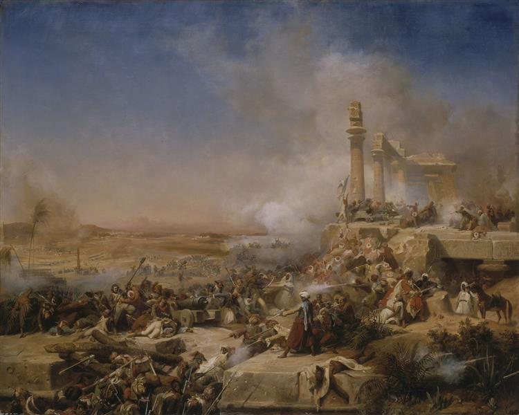 Bataille d'Heliopolis - Léon Cogniet