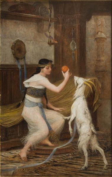 La Esmeralda Et Sa Chèvre Djali, 1902 - Lionel Noel Royer