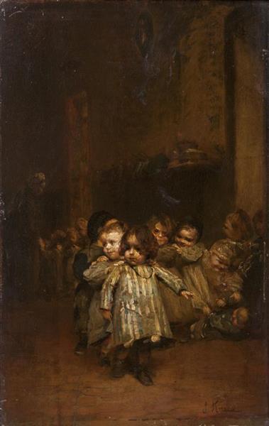 Orphans - Ludwig Knaus