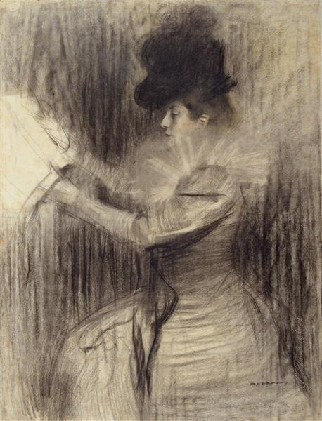 Female Figure - Ramon Casas