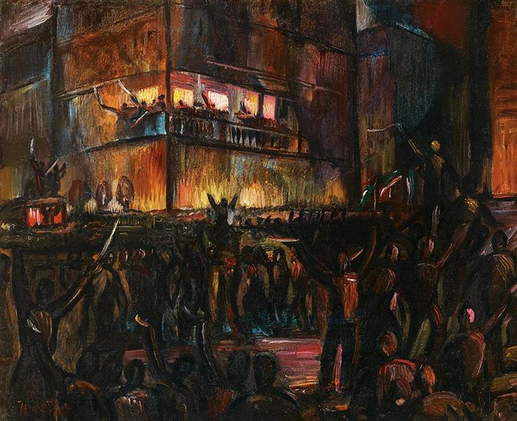 Revolution, c.1917 - c.1918 - Kmetty János