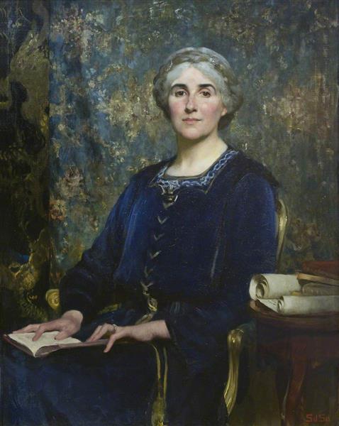Portrait of a Lady - Solomon Joseph Solomon