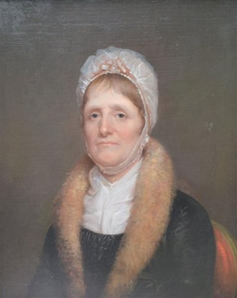 Portrait of Margaret Irvine Miller, 1805 - Рембрандт Пил