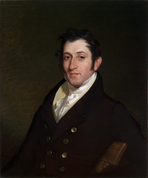 Colonel Mendes Cohen, 1838 - Rembrandt Peale