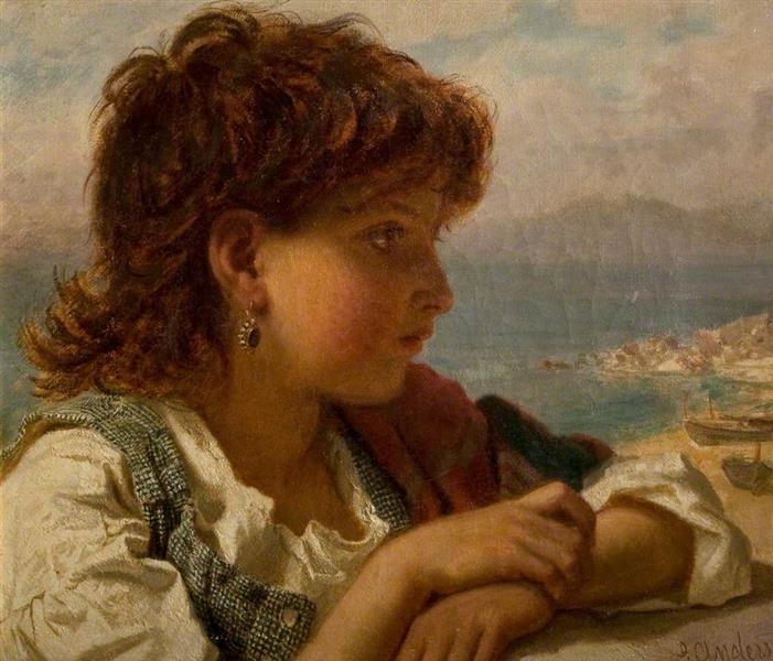 A Neapolitan Boy, 1875 - Sophie Gengembre Anderson