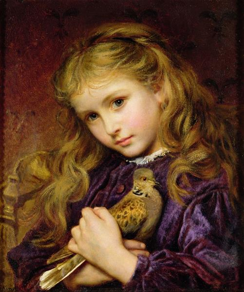 The Turtle Dove Small - Sophie Gengembre Anderson