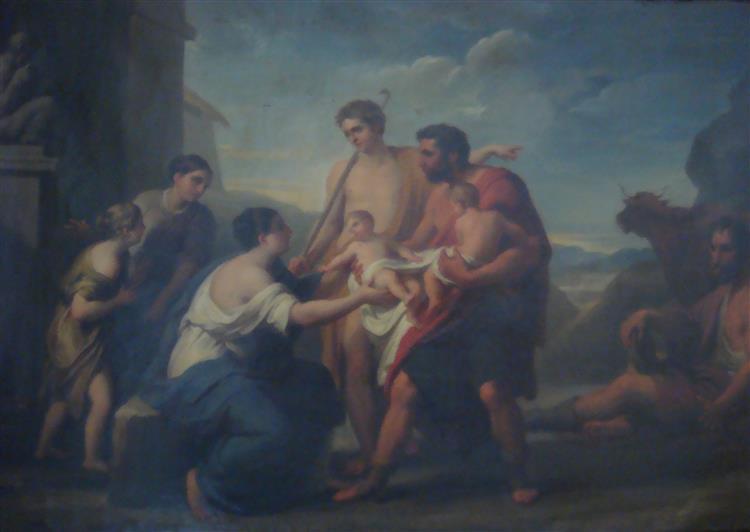 La Scoperta Di Romolo E Remo - Vincenzo Camuccini