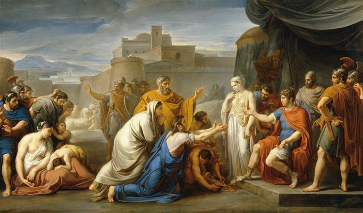 Scipio's moderation, 1808 - 1811 - Vincenzo Camuccini