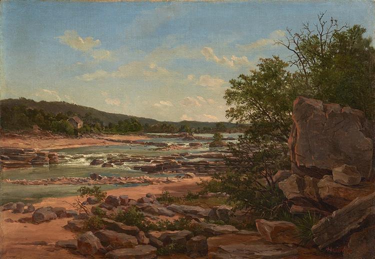 Marble Falls, 1885 - William Henry Huddle