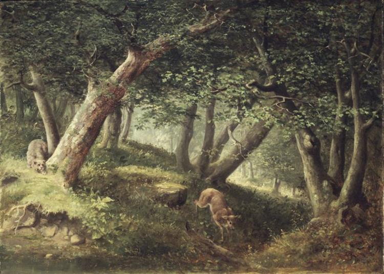 In the Forest - William Holbrook Beard