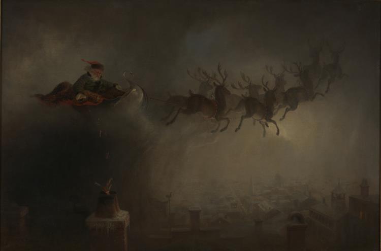 Santa Claus, 1862 - William Holbrook Beard