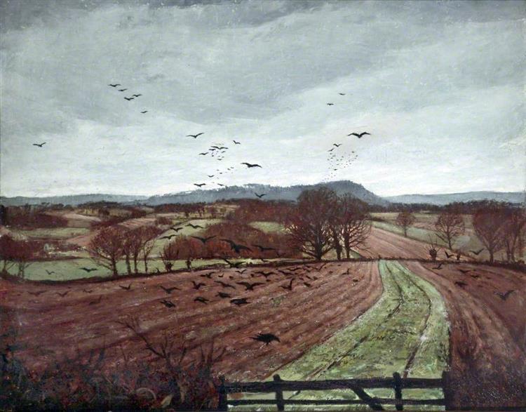 A Winter Landscape, 1926 - C. R. W. Nevinson