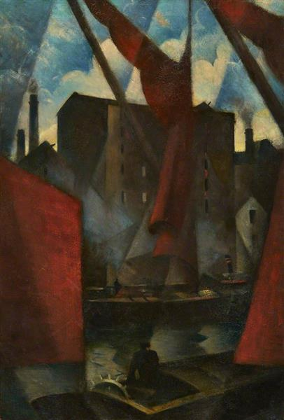 Limehouse, 1913 - Christopher Nevinson
