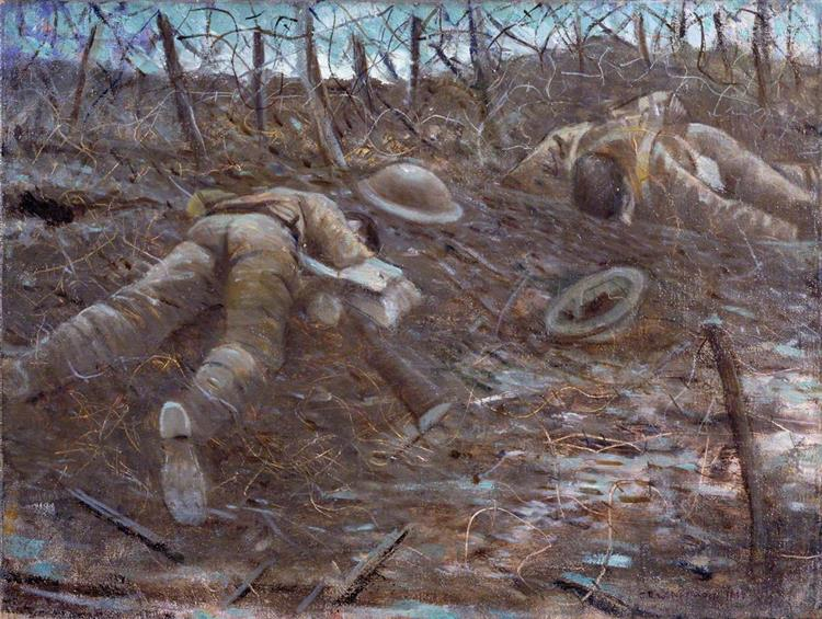 Paths of Glory, 1917 - C. R. W. Nevinson