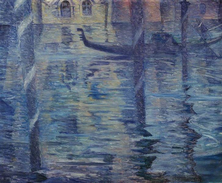 Venetian Twilight, 1918 - 1919 - C.R.W. Nevinson