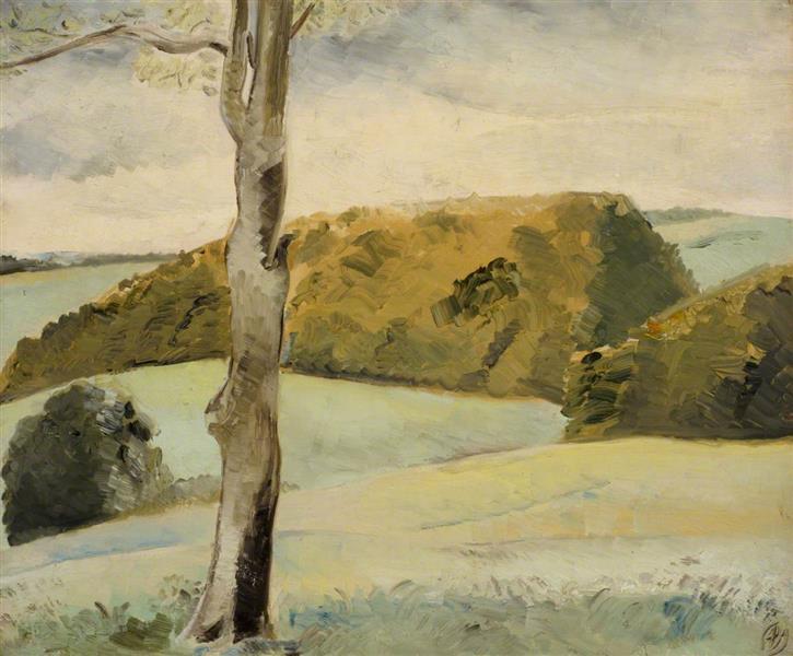 Berkshire Landscape, 1927 - Paul Nash