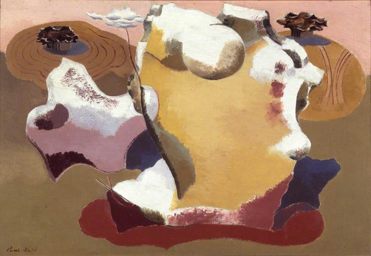 Landscape of the Megaliths, 1934 - Paul Nash