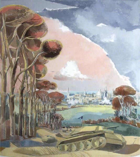 Oxford During the War, 1942 - Paul Nash