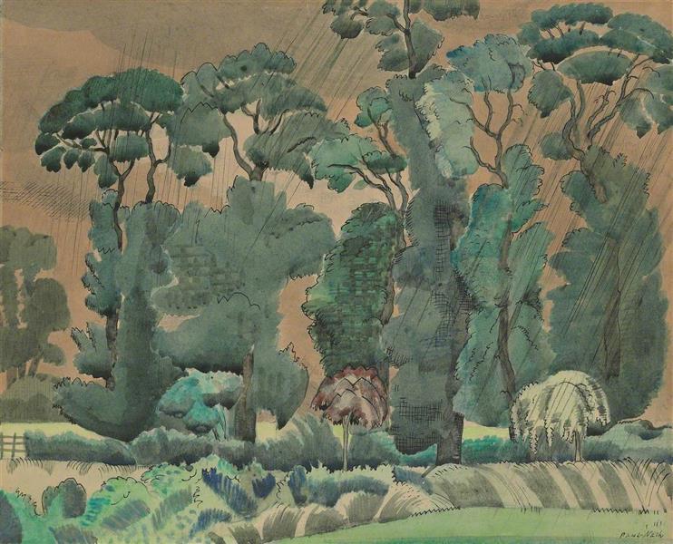 Spring Landscape, 1914 - Paul Nash