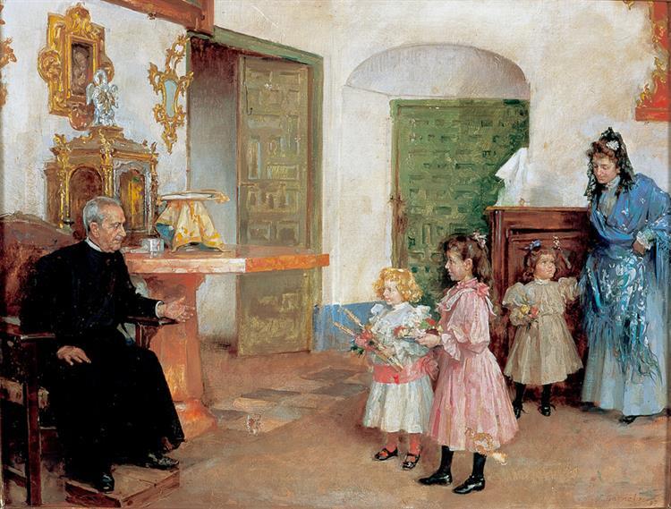 Sacristía De La Encarnación (Montilla), 1898 - José Garnelo