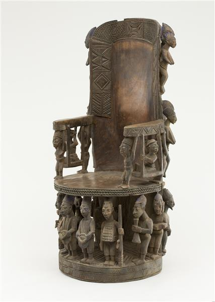 Throne for An African Prince, c.1930 - Olowe of Ise